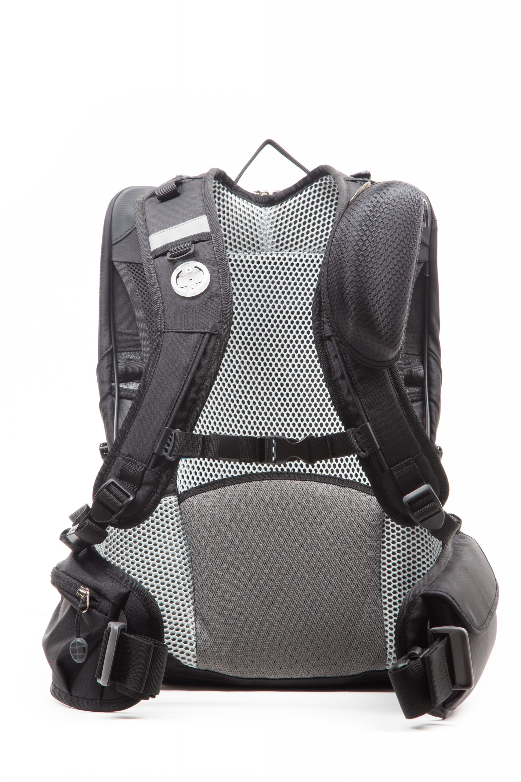 Shellback Bike to Work Backpack Front View with Glasses Case
