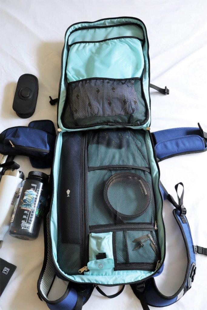 Shellback Backpack Organization