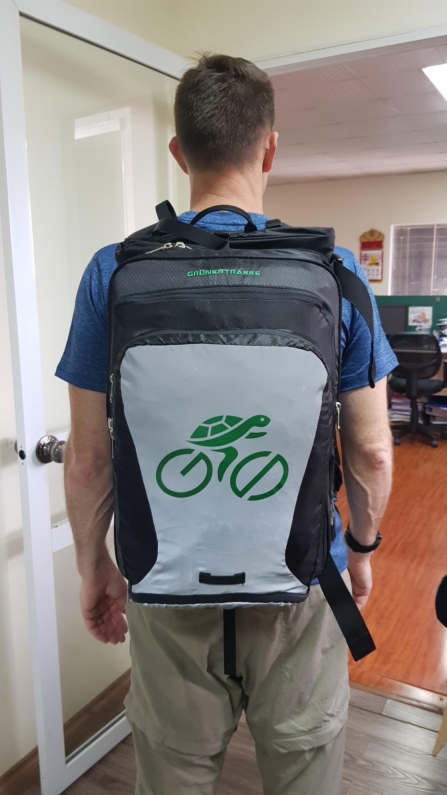 Version F Shellback Bike to Work Backpack