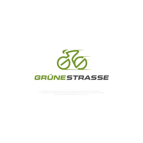 Original Logo Idea for GrüneStrasse Backpack Co.